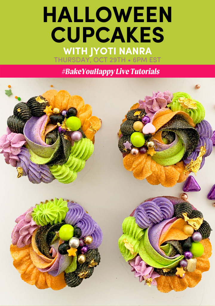 Halloween Cupcakes Live Tutorial