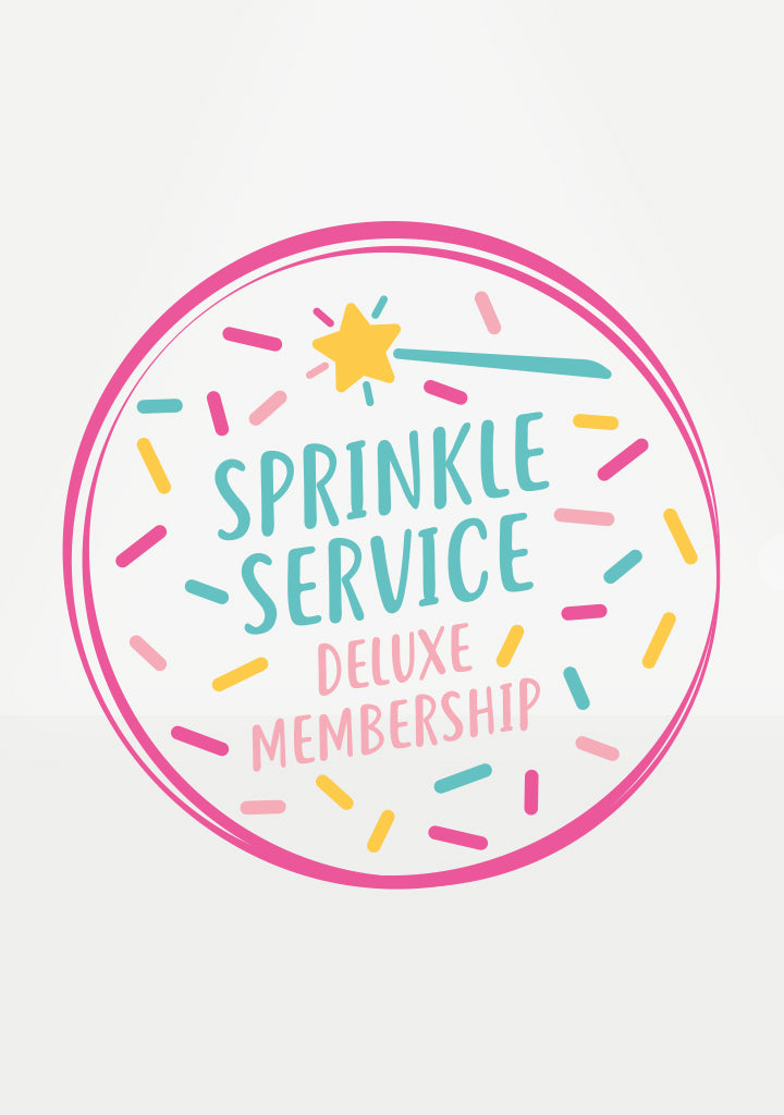 deluxe cake tee sprinkle service membership how to cake it