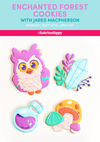 Enchanted Forest Cookies Live Tutorial