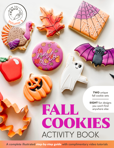 Fall Cookies Activity Bundle