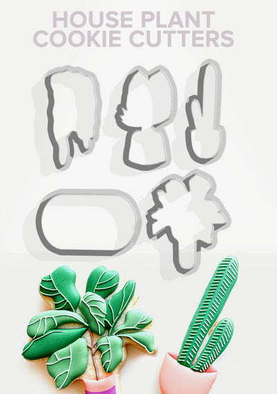 House Plant Cookie Cutters