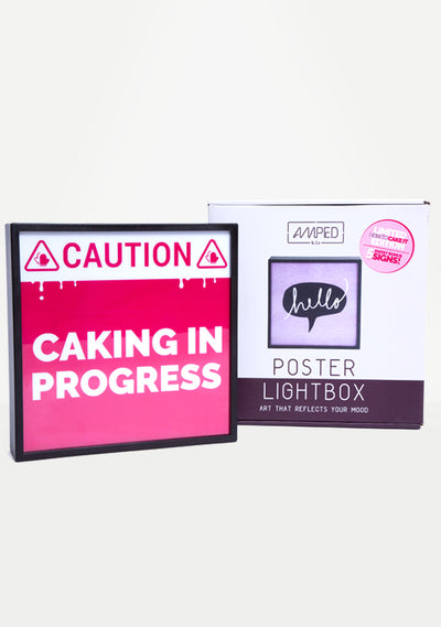 How To Cake It x Amped & Co Lightbox- LIMITED EDITION!