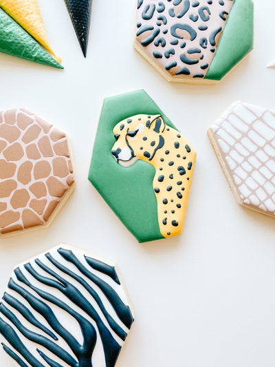 Animal Print Cookie Cutters