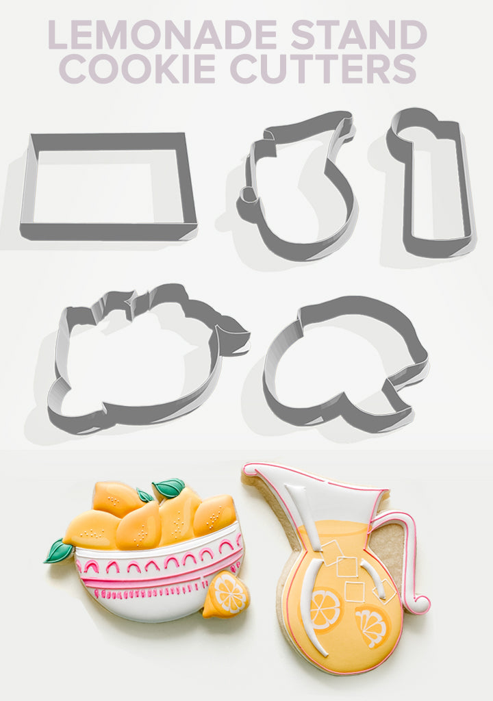 Lemonade Stand Cookie Cutters