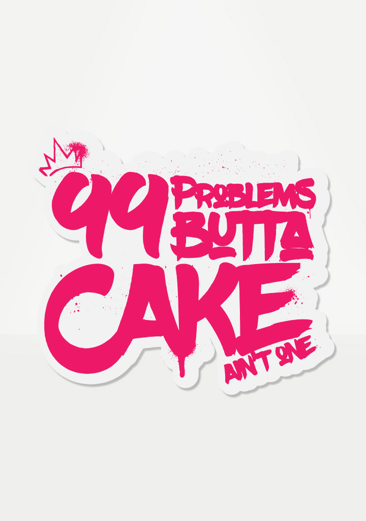 99 Problems Mix 'Em Up Sticker