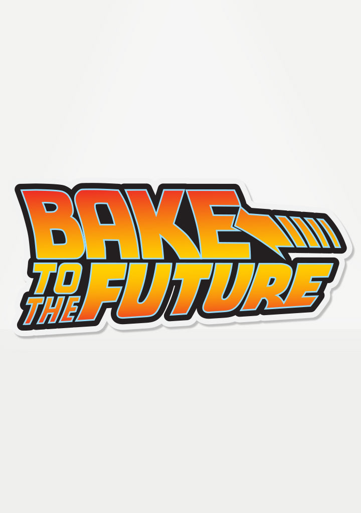 Bake To The Future Mix 'Em Up Sticker