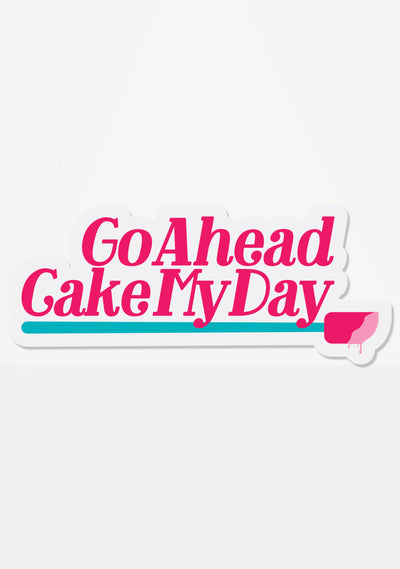 Cake My Day Mix 'Em Up Sticker