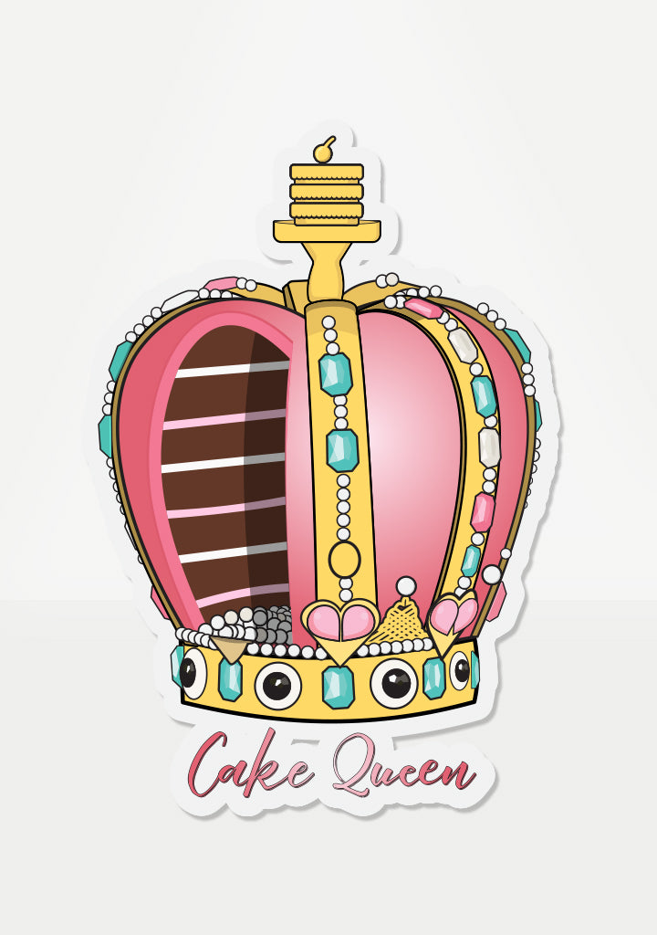 Cake Queen Mix 'Em Up Sticker