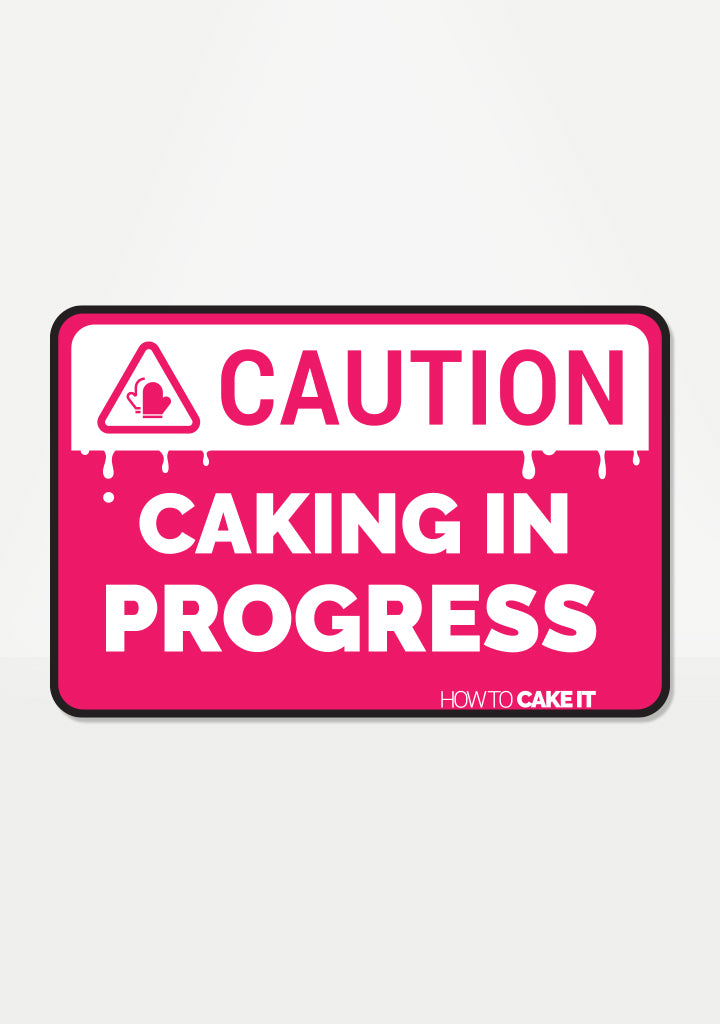 Caking In Progress Mix 'Em Up Sticker