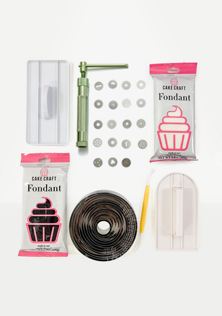 Fondant Cake Decorating Kit