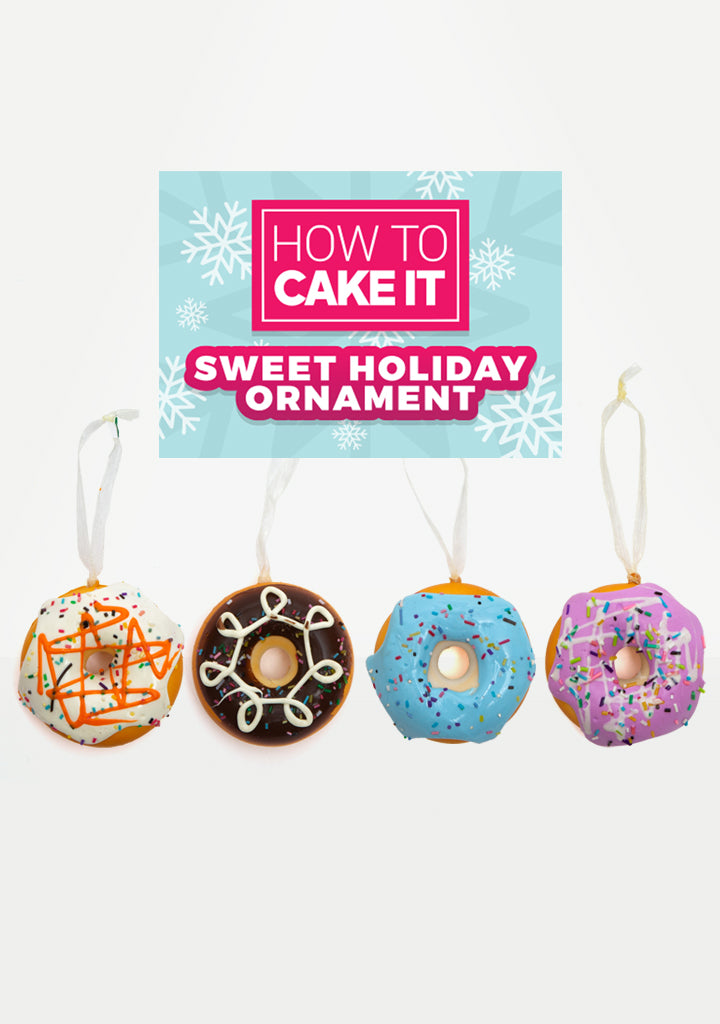 Sweet Donut Holiday Ornament