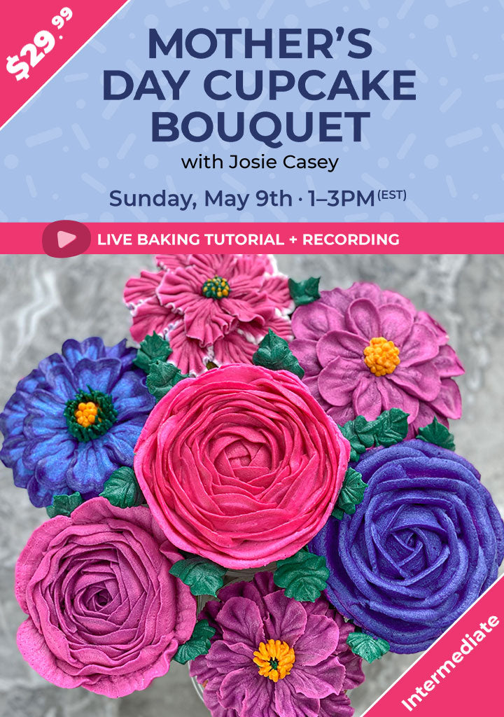 Mother's Day Cupcake Bouquet Live Tutorial