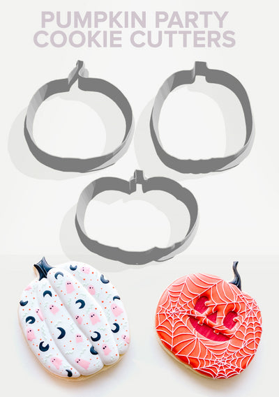 Pumpkin Party Cookie Cutters