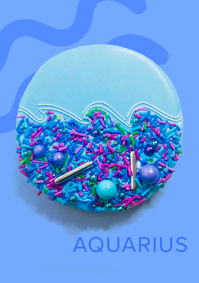 Aquarius Zodiac Sprinkles