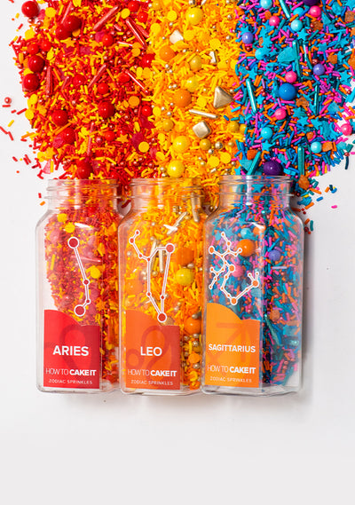 Zodiac Sprinkles Fire Elements Bundle