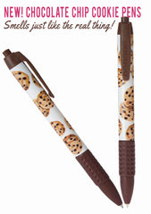 Scented Chocolate Chip Cookie Pen - New! Smells just like cookies!