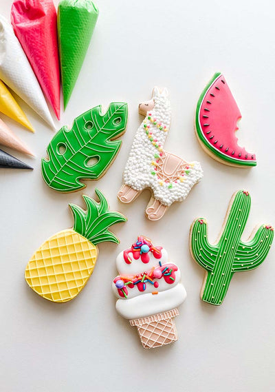 Sweetest Summer Party Cookies Digital Activity Book