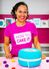 How To Cake It Block Logo Tee - New!