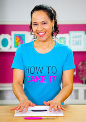 How To Cake It Logo Tee - New!