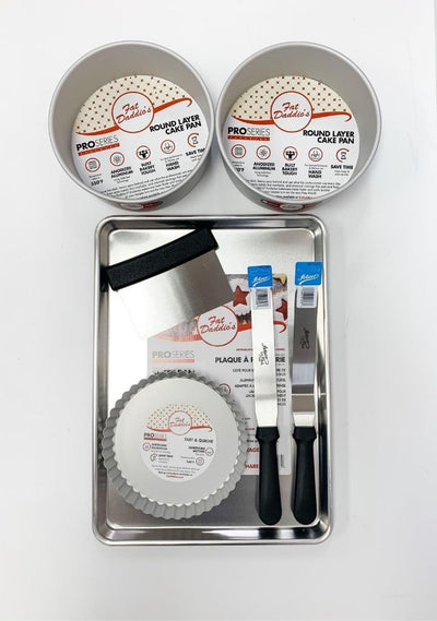 Fat Daddio's Mega Cake Pan Bundle