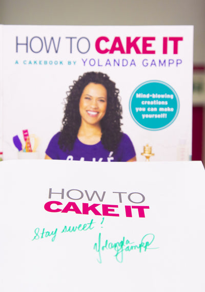 Signed How To Cake It Cakebook & Bottle Combo *Signed by Yo*