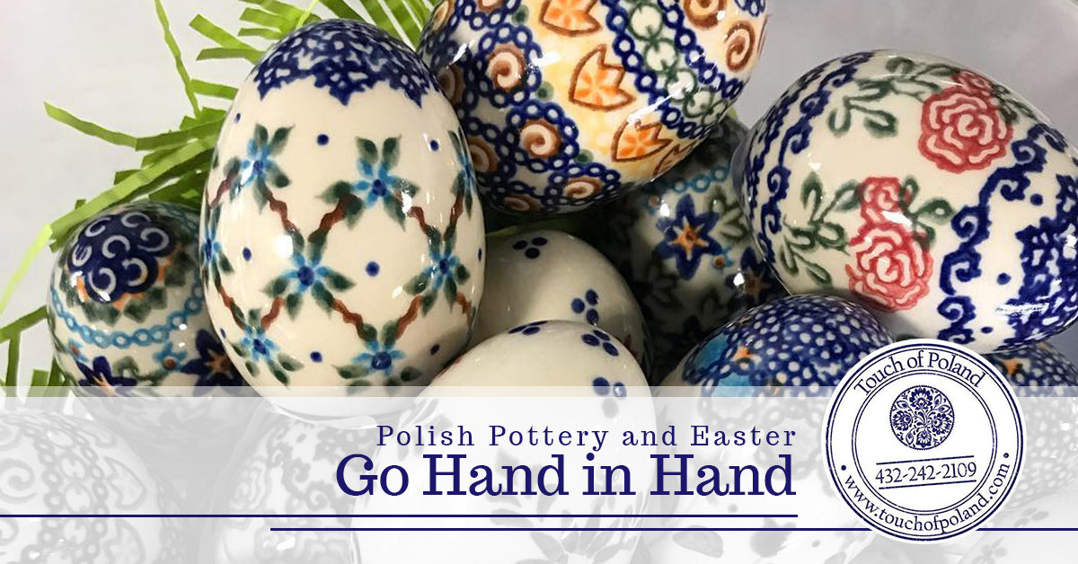 Polish Pottery and Easter Go Hand in Hand