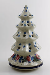 Large Christmas Tree Candle Holder
