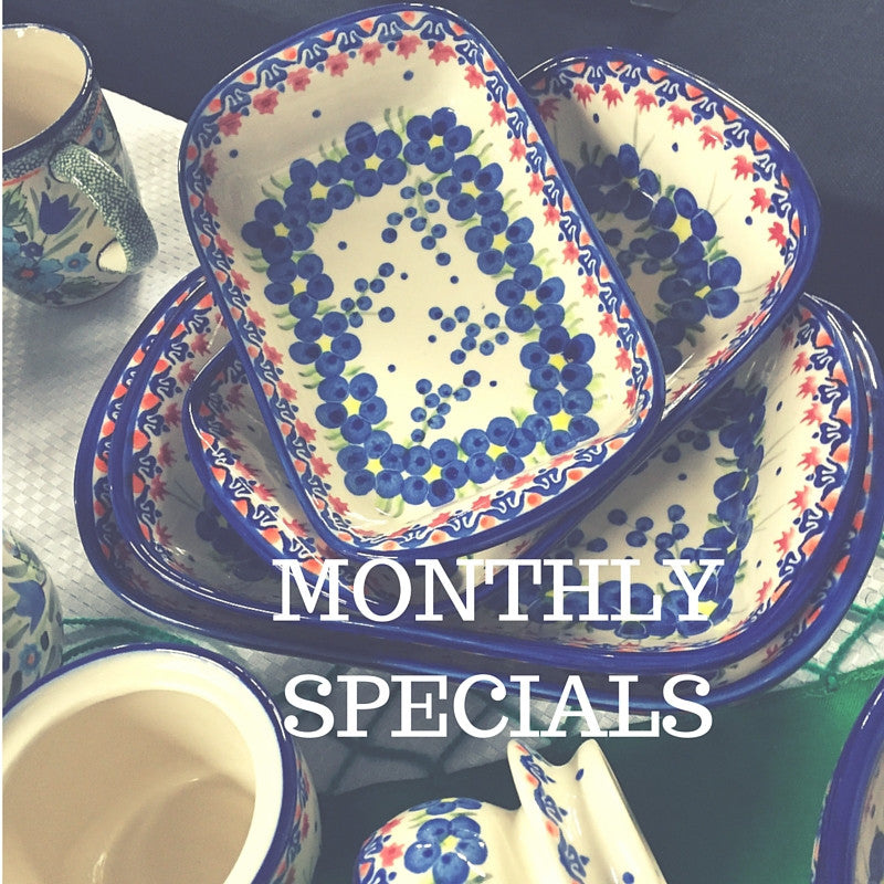 We\u0027re your one stop shop for Polish pottery and handmade gifts from Poland. The pottery is from Bolesławiec area. The traditional pieces are hand-st&ed ...  sc 1 th 225 & Touch of Poland   Polish Dinnerware Decorative Pottery Unique ...