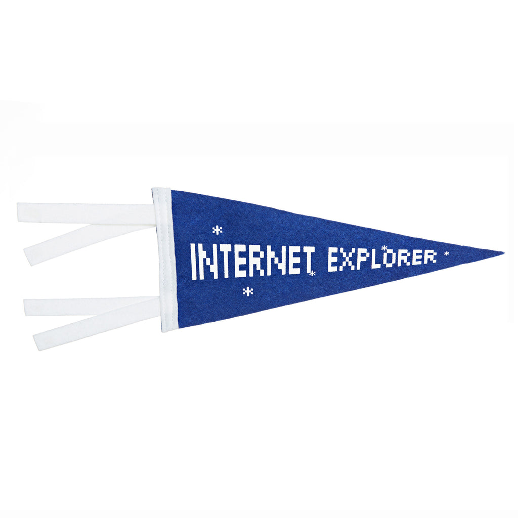 Internet Explorer Mini-Pennant
