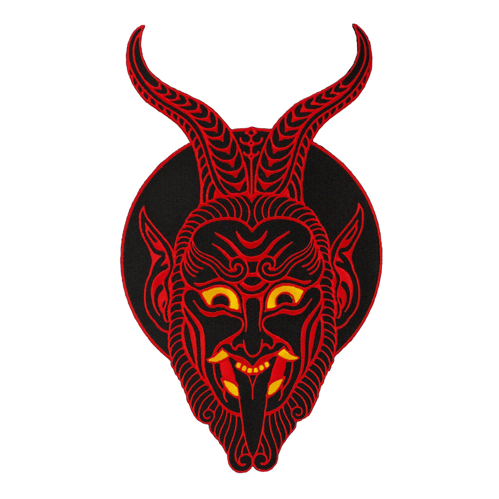 Krampus Back Patch