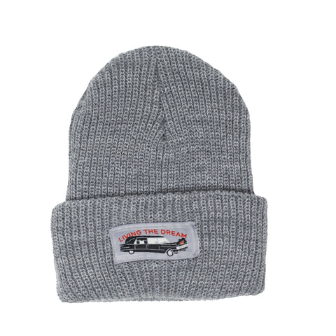 Living the Dream Beanie - Grey