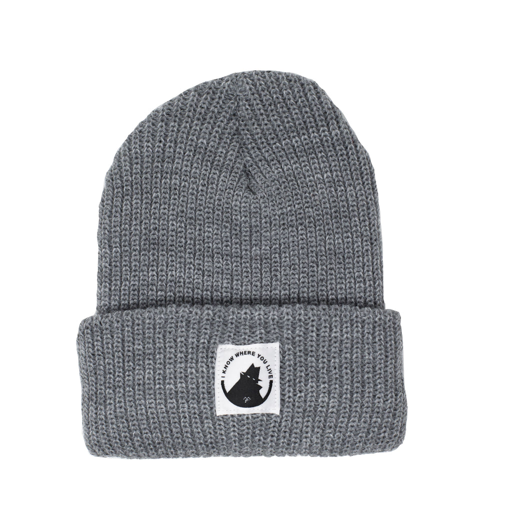 Neighborhood Watch Beanie - Grey