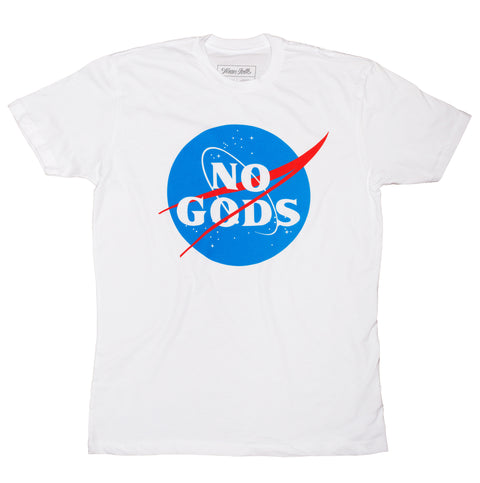 No Gods Shirt - White