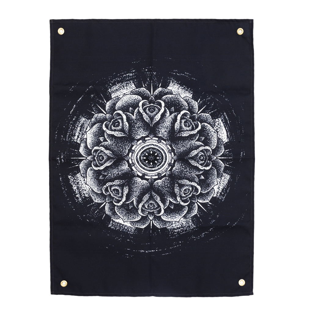 Rose Void Tapestry