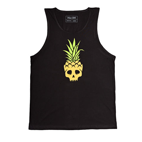 Pineapple Skull Tank Top
