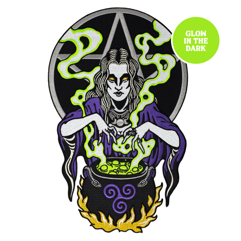 Witch Back Patch