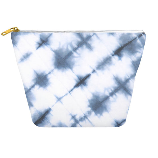 Blue Japanese Shibori Mens Dopp Kit