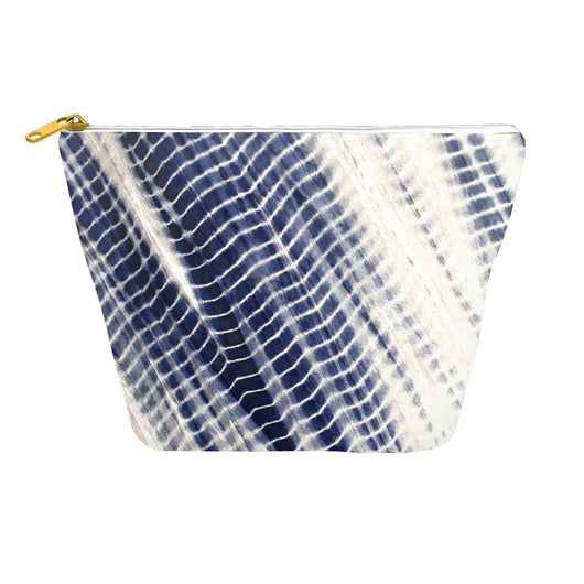 Shibori 32 Japanese Indigo Tie Dyed Travel Bag Dopp Kit