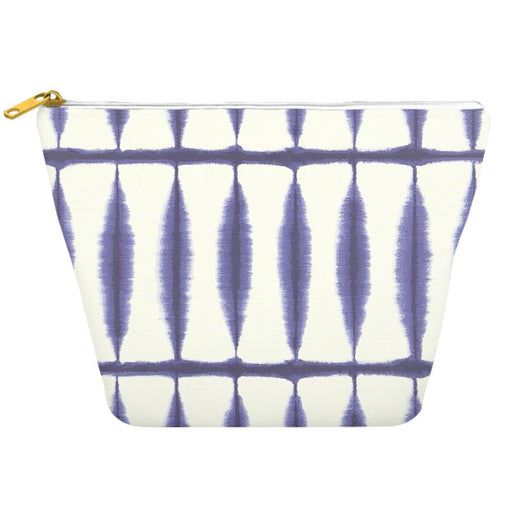 Shibori 39 Indigo Blue Japanese Tie Dye Travel Bag Dopp Kit
