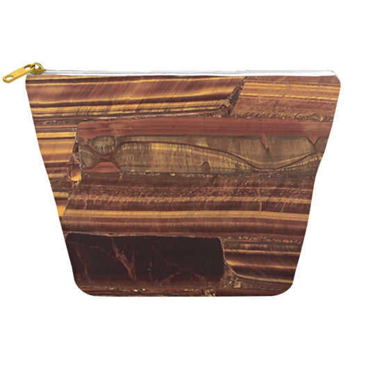 Tiger Eye Stone Mens Dopp Kit