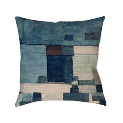 Japanese Boro 3 Printed Bohemian Pillow