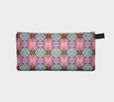 Painted Flower Series 2 - Pencil Pouch Cosmetic Case Makeup