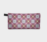 Prickly Pear Abstraction 3 Cosmetic Case Makeup Bag