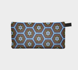 Mountain Hive - Makeup Storage Case  Cosmetic Pouch Pencil Case