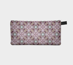 Geometric Pastel Motif 2  - Makeup Storage Case  Cosmetic Pouch Pencil Case
