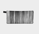 Black Streak  - Cosmetic Pouch Pencil Case Brides Maids Gift Zip Pouch Makeup Storage Case