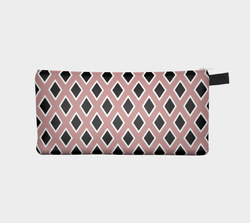 Rose Black Diamond Cosmetic Case