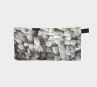 Mother of Pearl 2 - Cosmetic & Pencil Case - Printed Gemstone Makeup Bag