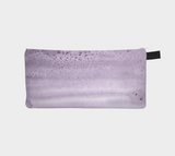Salted Watercolor Purple Pencil Case Cosmetic Zip Pouch - Makeup Bag