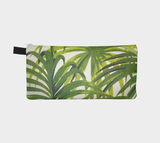 Hollywood Botanical Palms Zip Clutch - Cosmetic & Pencil Case